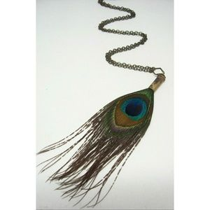Jewelry - Unique Bullet Peacock necklace